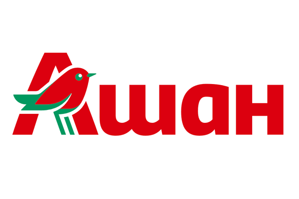 Логотип Ашан (супермаркет в БЦ «Капитал») - Справочник Щелково