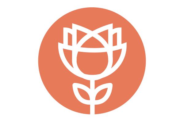 Логотип Городская база цветов (магазин в пассаже «Клязьма») - Справочник Щелково
