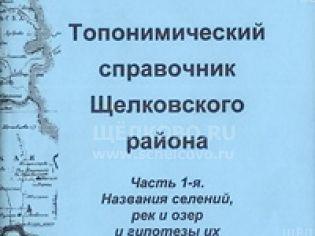 Обложки книг о Щелково и Щелковском районе