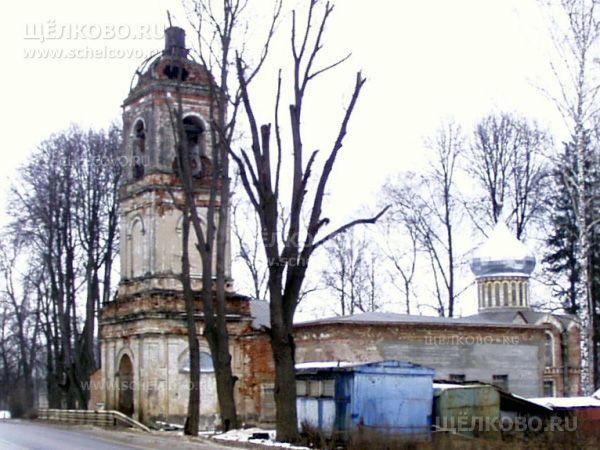 Фото церковь Преподобного Сергия Радонежского в селе Трубино Щелковского района - Щелково.ru
