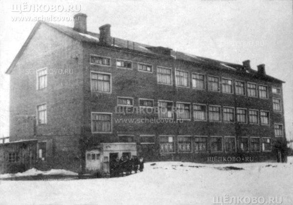 Фото Щёлковский химико-механический техникум (1-й Советский переулок г. Щелково) - Щелково.ru