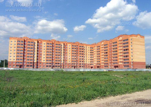 Фото не принятый в эксплуатацию новый дом по улице 8-е Марта в микрорайоне Жегалово г. Щелково (окончание строительства— сентябрь 2007 г.) - Щелково.ru