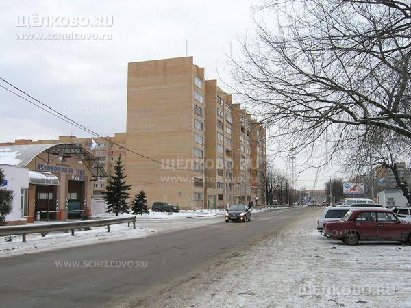 Фото г. Щелково, ул. Заречная, дом 6, слева— автоколонна 1785 (ул.Заречная, д.84) - Щелково.ru