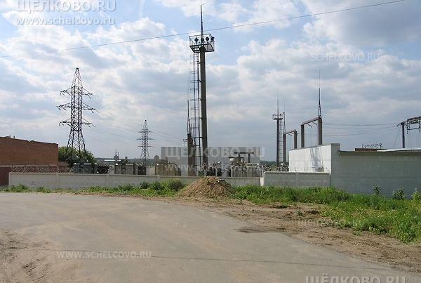 Фото электроподстанция на улице 8-е Марта в Щелково (микрорайон Жегалово) - Щелково.ru