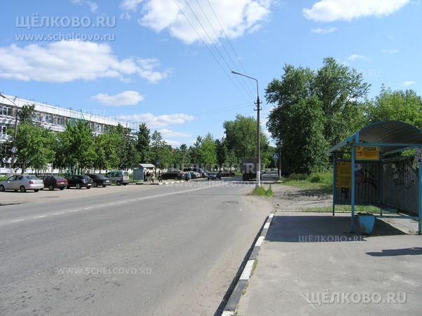 Фото автобусная остановка «Фабрика «Славия» на улице Фабричная г. Щелково - Щелково.ru