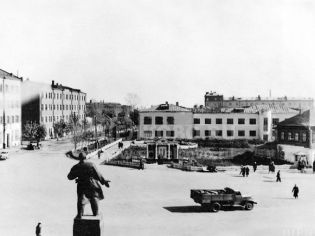Адрес Щелково, пер. 1-й Советский, 5 - начало 1950-х гг.