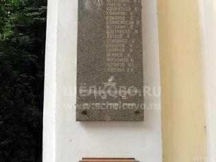 Щелково, пер. 1-й Советский, 17 - 10 июля 2009 г.