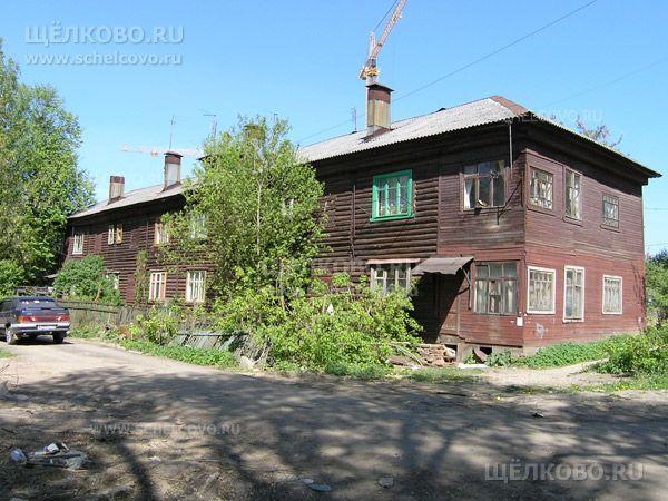 Фото г. Щелково, ул. Центральная, дом 10 (вид со двора) - Щелково.ru