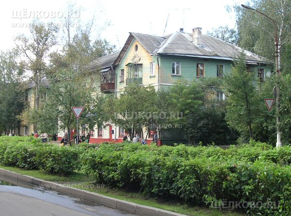Фото г. Щелково, ул. Парковая, дом 14 (на пересечении с улицей Иванова) - Щелково.ru