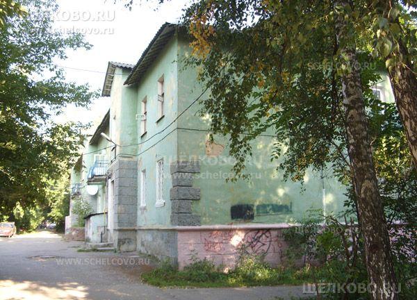 Фото г. Щелково, ул. Центральная, дом 34 (вид со двора) - Щелково.ru