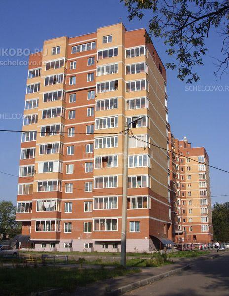 Фото г. Щелково, ул. Первомайская, дом 7, корпус 1 (вид с улицы Кооперативная) - Щелково.ru