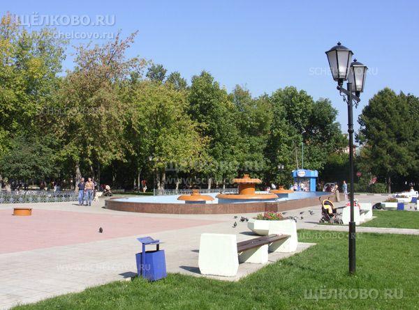 Фото площадь около ДК на улице Пушкина г. Щелково - Щелково.ru