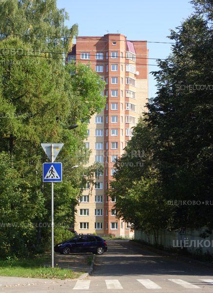 Фото г. Щелково, ул. Строителей, дом 3 (вид с улицы Центральная на 1-й Первомайский проезд) - Щелково.ru