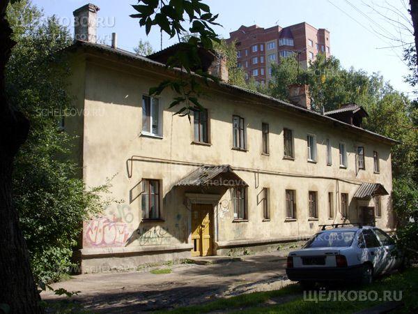 Фото г. Щелково, ул. Строителей, дом 9 (вид со двора) - Щелково.ru