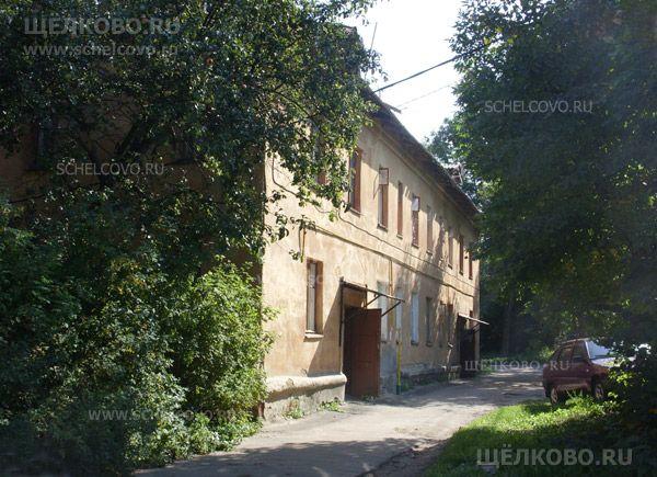 Фото г. Щелково, ул. Строителей, дом 14 (вид со двора) - Щелково.ru