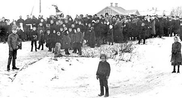 Фото похороны Александры Александровны Четвериковой на железнодорожной станции «Щелково» - Щелково.ru