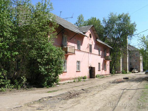 Фото г. Щелково, ул. Центральная, дом 46 (вид со двора) - Щелково.ru