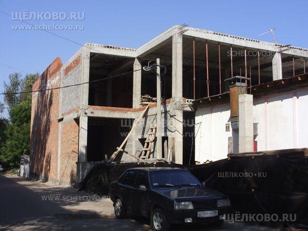 Фото строительство ресторана на улице Пушкина в Щелково (около дома №30) - Щелково.ru