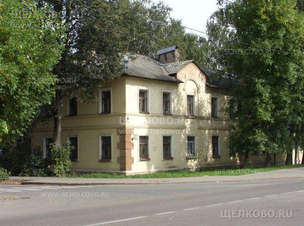 Фото г. Щелково, ул. Центральная, дом 27; слева— поворот на улицу Иванова - Щелково.ru