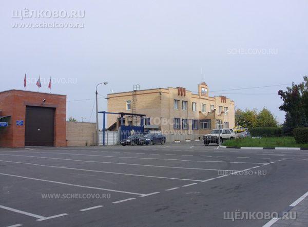 Фото автостоянка около станции государственного технического осмотра автомобилей ГИБДД (г. Щелково, ул.Центральная, д.73) - Щелково.ru
