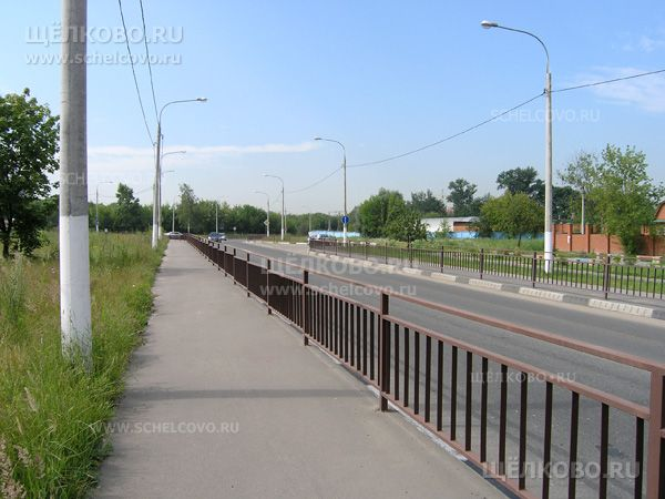 Фото дорога от ул. Октябрьской (эстакада) к ул. Советской - Щелково.ru