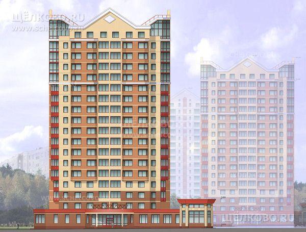 Фото проект 17-этажного жилого дома с встроенно-пристроенной художественной школой (г. Щелково, 1-й Советский переулок, квартал «Пустовский») - Щелково.ru