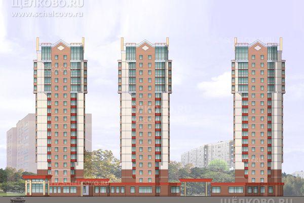 Фото проект 3-х жилых домов в квартале «Пустовский» г. Щелково (1-й Советский переулок) - Щелково.ru