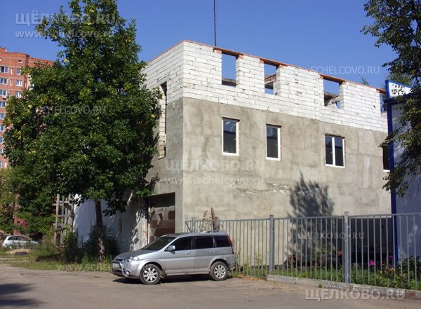 Фото строительство здания около котельной на улице Строителей в Щелково - Щелково.ru