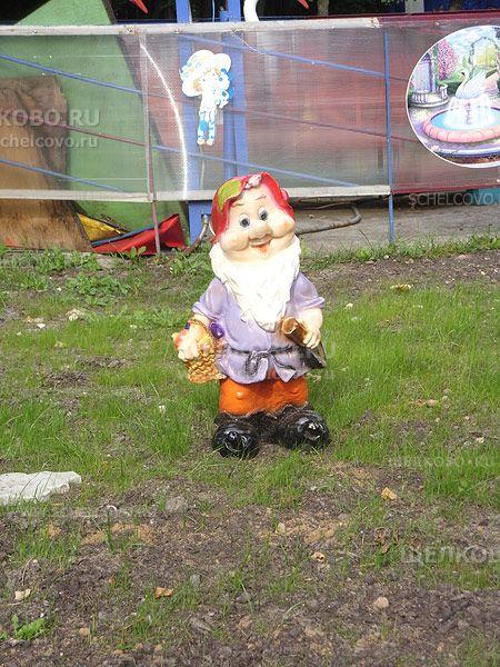 Фото гном в парке культуры и отдыха г. Щелково (улица Строителей) - Щелково.ru