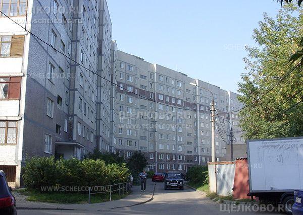 Фото г. Щелково, ул. Центральная, дом 9 (вид со двора, со стороны дома№8 по ул.Комарова) - Щелково.ru