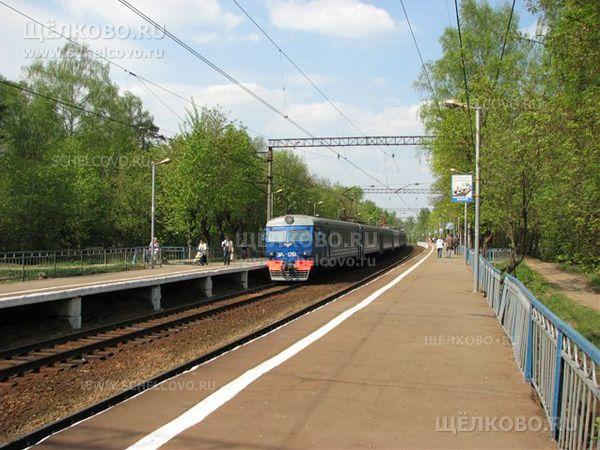 Фото железнодорожная станция «Чкаловская» г.Щёлково - Щелково.ru