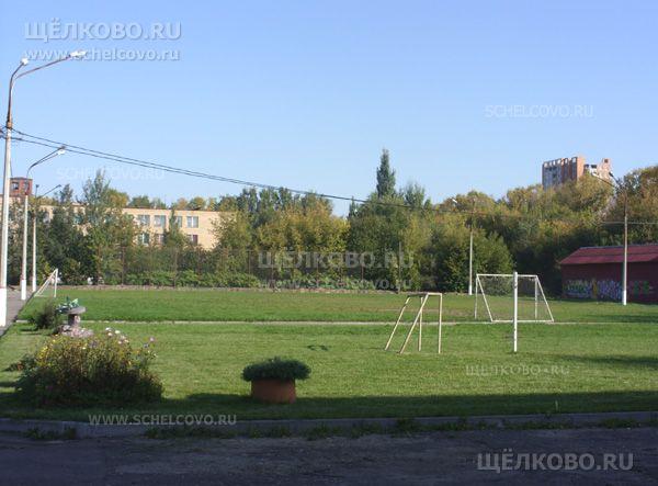 Фото футбольное поле на улице Фабричная г. Щелково - Щелково.ru