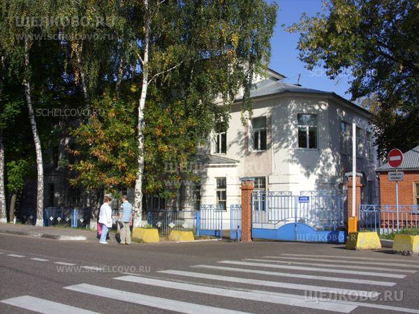 Фото территория больницы (г. Щелково, ул. Краснознаменская, дом8) - Щелково.ru