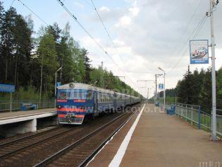 Адрес Звездный городок,  Звездный городок, ж/д платформа «Циолковская» - начало мая 2008 г.