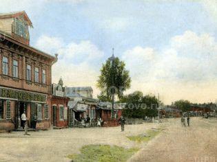 Город Щелково. Улица Советская в 20 веке