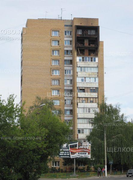 Фото последствия пожара в доме № 4а по улице Талсинская г. Щелково - Щелково.ru