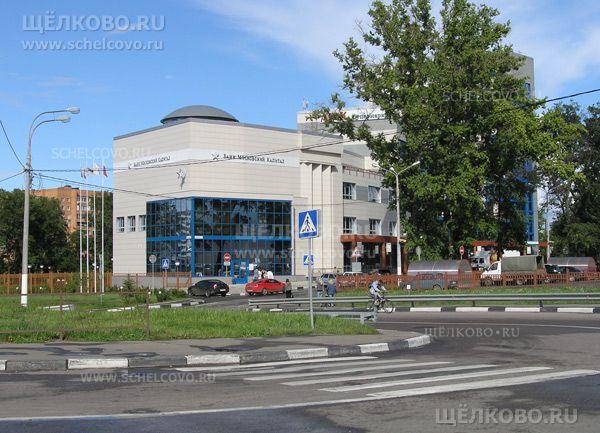 Фото бизнес-центр «Капитал» в Щелково (Пролетарский проспект, д.8а), справа от центра— улица Малопролетарская - Щелково.ru