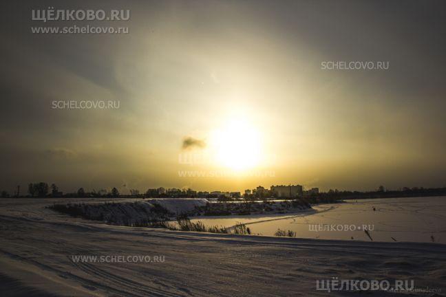 Фото дорога между бывшими карьерами Рудоуправления (г. Щелково, ул. Кожинская) - Щелково.ru