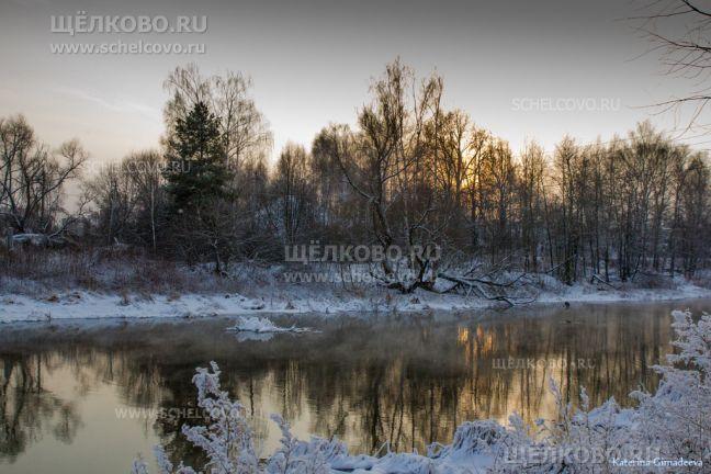 Фото на левом берегу Клязьмы в районе карьера (г. Щелково, ул. Амеревская) - Щелково.ru