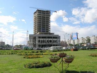 Город Щелково. Пролетарский проспект в 2008 году