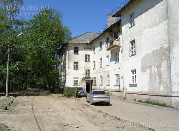 Фото г. Щелково, ул. Центральная, дом 48 (вид со двора) - Щелково.ru