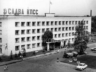 Старые фото площади Ленина города Щелково (бывшая Советская площадь)