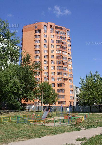 Фото г. Щелково, ул. Комсомольская, дом 8б (вид со двора) - Щелково.ru