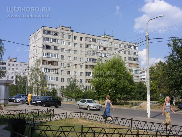 Фото г. Щелково, ул. Космодемьянская, дом 8 - Щелково.ru