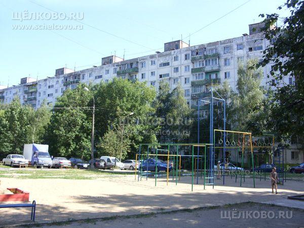 Фото г. Щелково, ул. Талсинская, дом 8 (вид со двора) - Щелково.ru