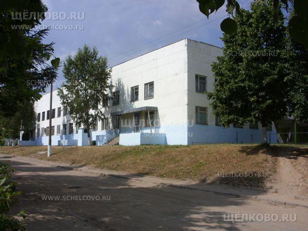 Фото поликлиника на улице Фрунзе в Щелково (вид с улицы Добролюбова) - Щелково.ru