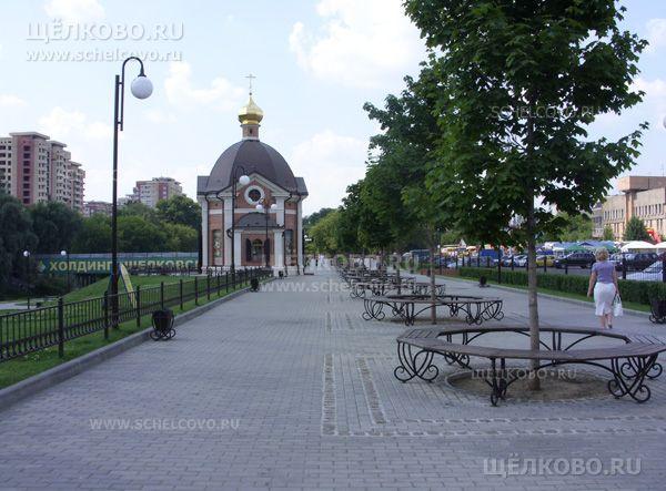 Фото Серафимо-Саровский храм в Щелково (набережная Серафима Саровского, д. 1) - Щелково.ru