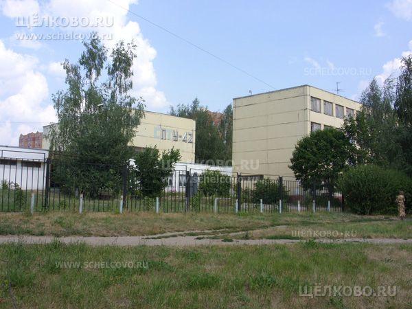 Фото профессиональное училище№42 г. Щелково (ул. Сиреневая, д. 3 — вид с улицы Комсомольская) - Щелково.ru