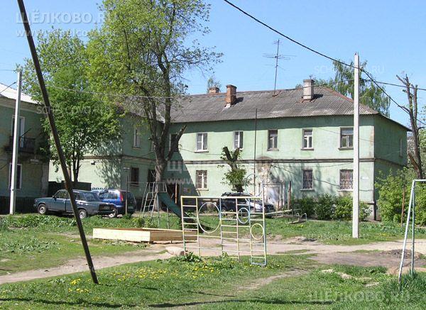 Фото г. Щелково, ул. Кооперативная, дом 25 (вид со двора) - Щелково.ru