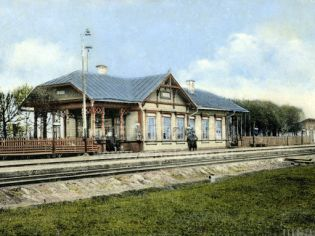 Ж/д станция «Щелково» Щелково